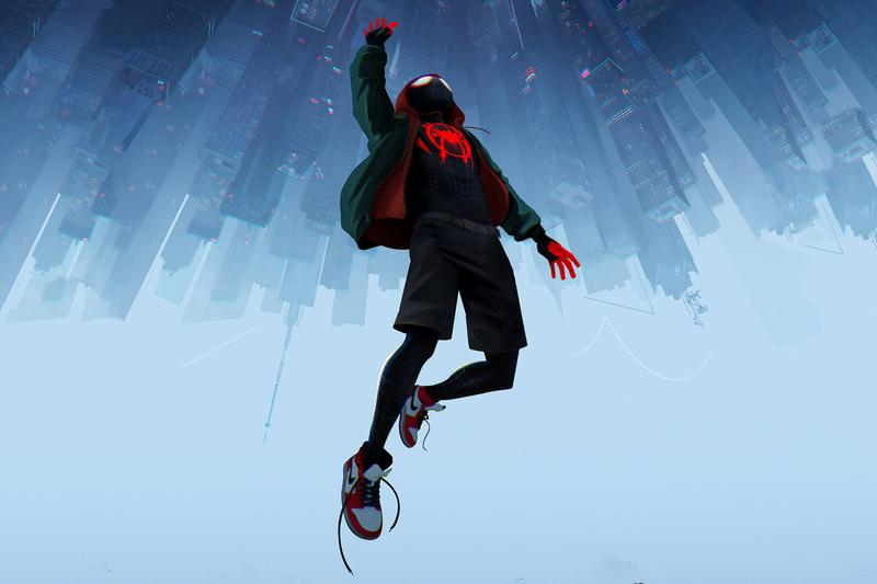 Spider-Man: Into the Spider-Verse Sony Pictures Animation Netflix shameik moore Tom Holland Far From Home