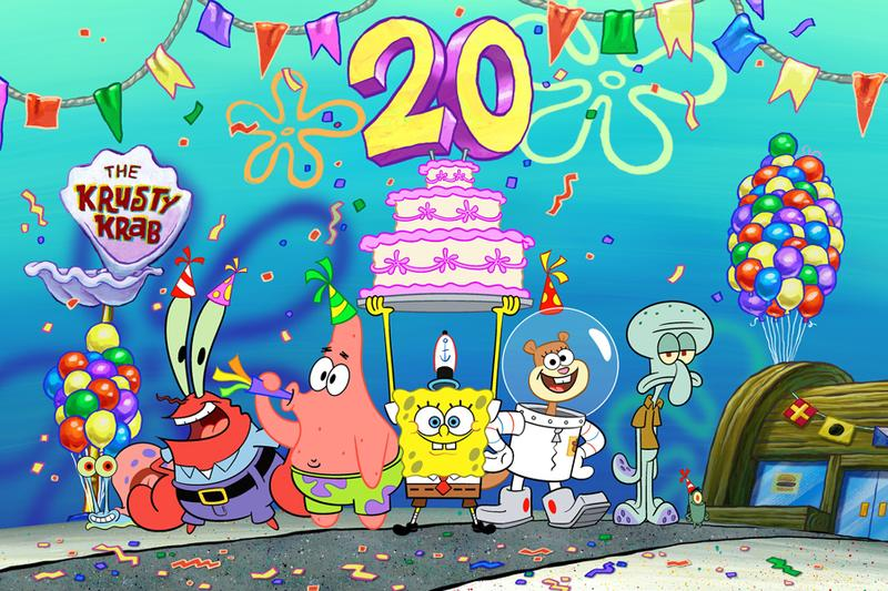 Nickelodeon Nick SpongeBob SquarePants Prequel Series 20 year anniversary  Kamp Koral 10 year old kid sponge bob square pants show tv