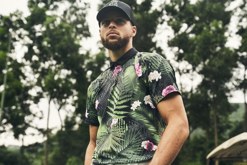 Steph Curry Adds His Stylish Touch to Under Armour's Golf Collection