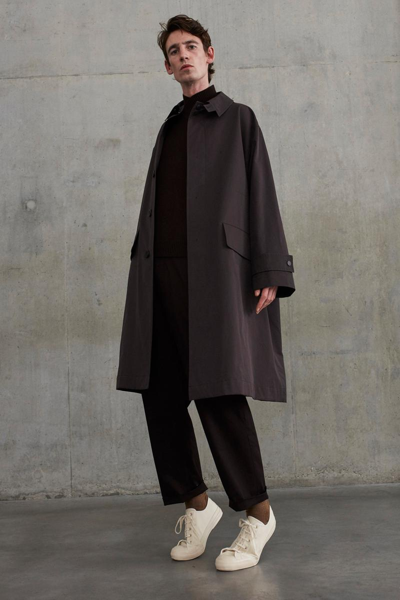 Studio Nicholson Fall/Winter 2019 Collection lookbook nick wakeman
