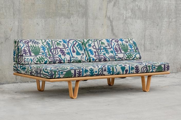 Stussy Geoff McFetridge Modernica Bentwood Daybed day bed couch sofa jp japan exclusive art graphic illustration design
