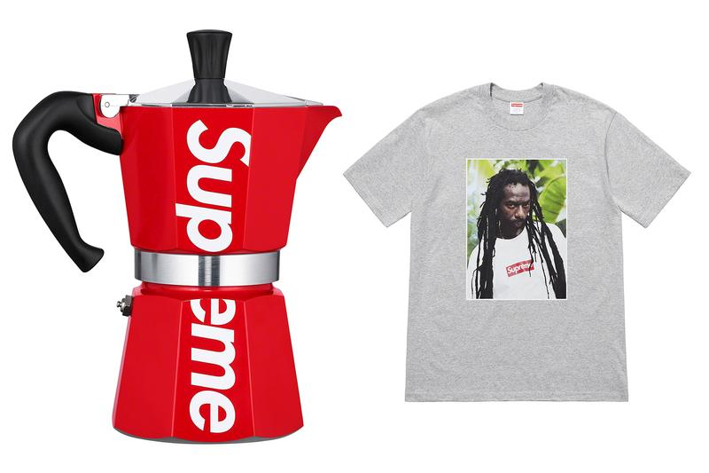 Supreme Spring Summer 19 Drop List for Week 18 National Geographic Element Saint Laurent YEVO Happy Plugs Paris Saint-Germain PSG Jordan Brand Leica Jean Pigozzi huf Haroshi drew House