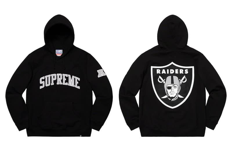 49342ecc4 Supreme x Raiders NFL '47 Spring 2019 Collection | HYPEBEAST
