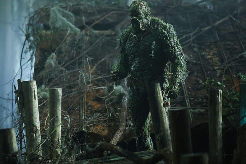 DC Comics Universe 'Swamp Thing Cancelled pilot