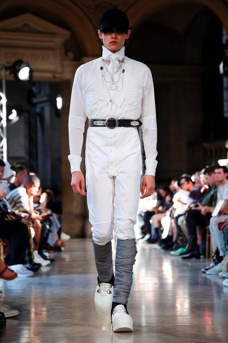 TAKAHIROMIYASHITATheSoloist. Paris Fashion Week Men's SS20 Spring Summer 2020 Looks Runway Pieces Collaboration Pieces First Look