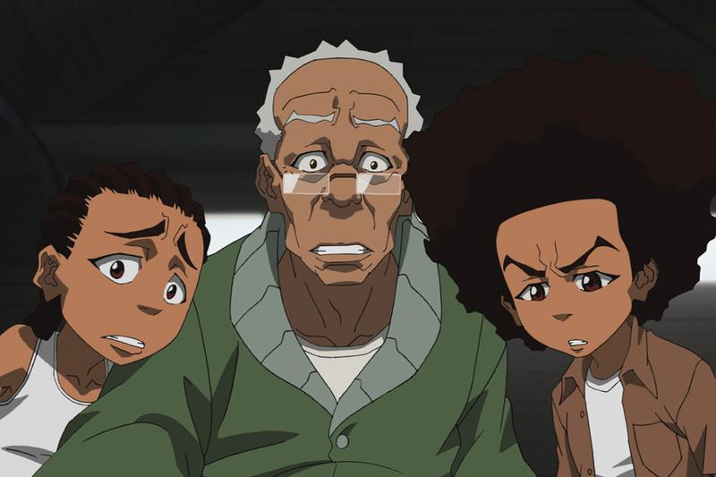 The Boondocks Reboot Aaron McGruder Adult Swim sony pictures tv television show series huey riley regina king