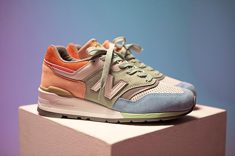 "Todd Snyder x New Balance 997 ""LOVE"" Collaboration sneaker release date info buy colorway"