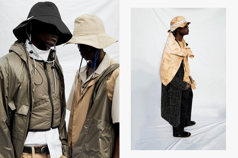 "Tourne de Transmission Spring/Summer 2020 SS20 Collection Lookbook ""BINARY CONNECTIONS"" Data Mining Coding Algorithms Technology Systems CCTV TDT Japanese Denim Italian Nylon Leathers"