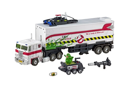 Transformers & Ghostbusters Link Up for Modular 35th-Anniversary Masterpiece