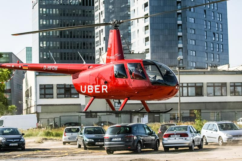 Uber New York City Helicopter Rides Summer 2019 Taxi