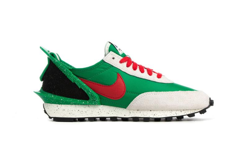"""UNDERCOVER x Nike Daybreak Sneaker Collab """"Lucky Green"""" and Black sneaker where to buy price release 2019"""