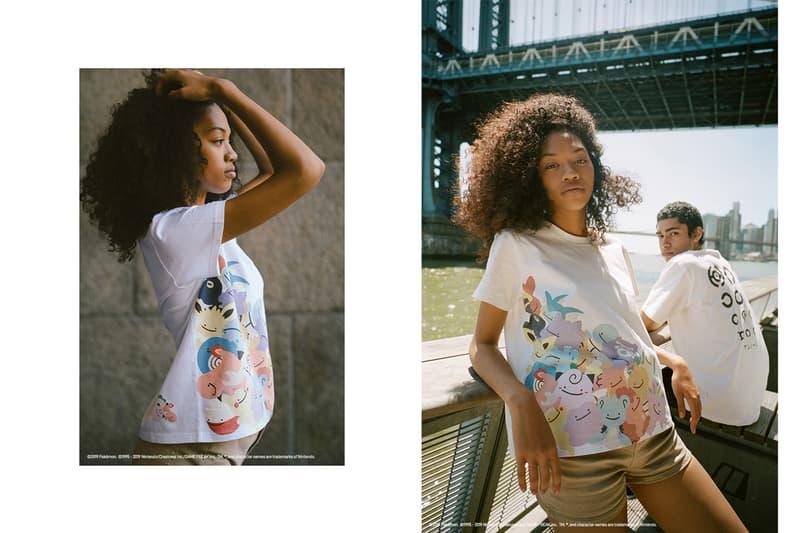 UNIQLO UT SS19 New York City Lookbook pokemon t-shirt grand prix spring summer japan america ckien yap malaysia