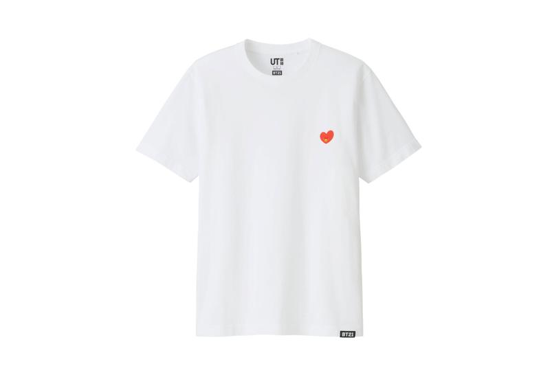 "UNIQLO UT BTS x Line Friends ""BT21"" Capsule korean boy band t-shirts cartoons"