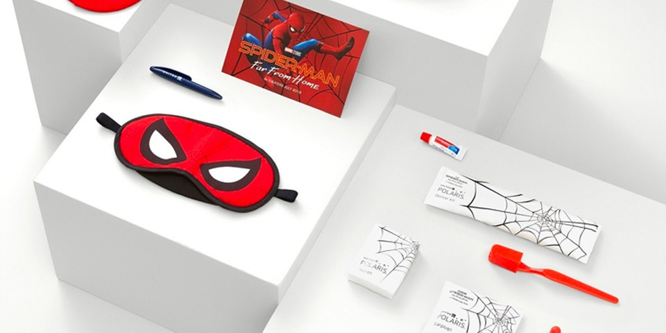 9f39152595a United Airlines & 'Spider-Man: Far From Home' Amenity Kits | HYPEBEAST