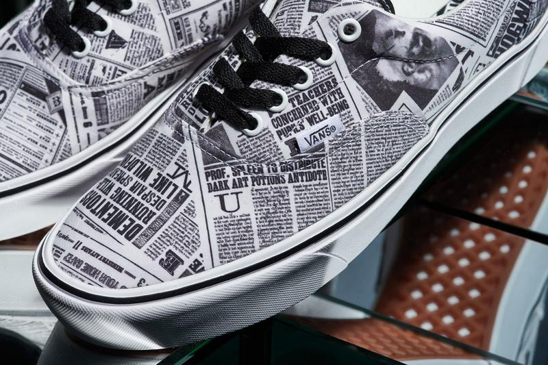 harry potter vans capsule collection footwear apparel warner bros consumer products wizarding world hogwarts
