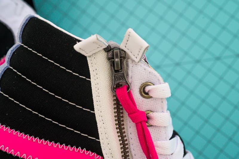 Vans Sk8-Hi Reissue Cap Black Azalea Pink release Info VN0A3WM1XKS