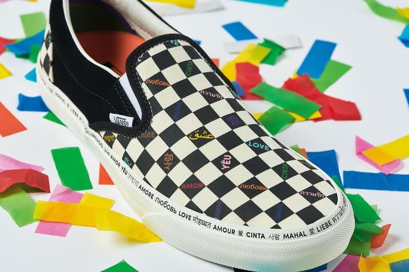 vans vault love pack pride 2019 footwear release new york sk8 hi classic slip on sneakers