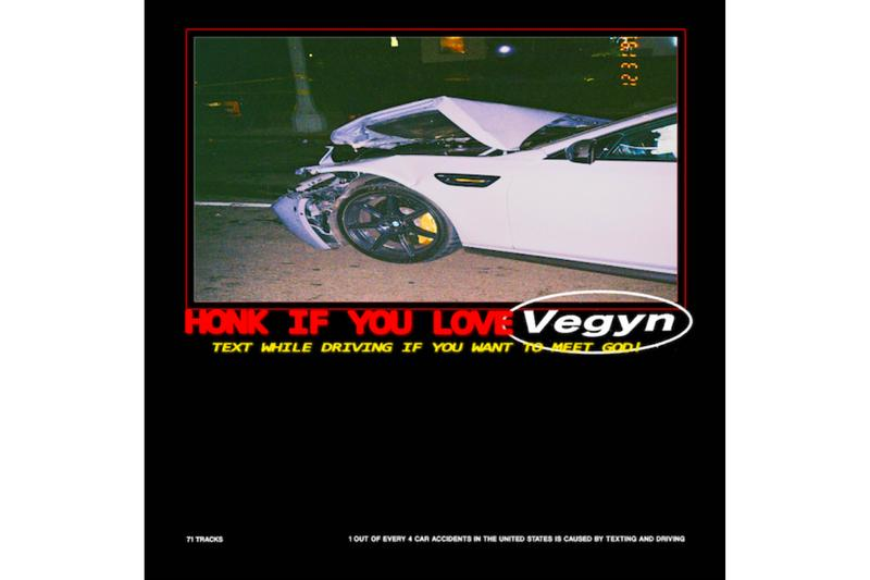 Vegyn 71-Track Mixtape Text While Driving If You Want To Meet God London PLZ Make It Ruins