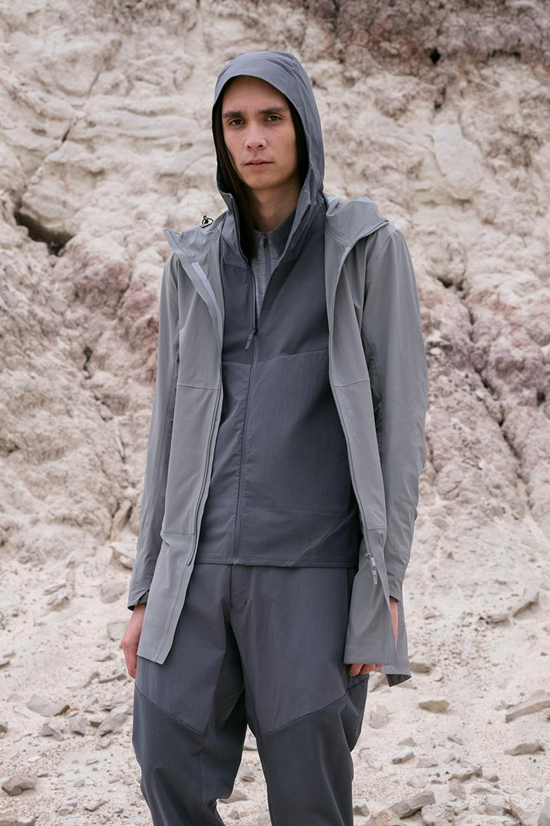 Arc'teryx Veilance Spring/Summer 2020 Collection technical apparel techwear goretex 3L leaf form function