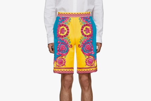 "Versace Has You Covered for the Beach Season With These ""Baroque"" Shorts"