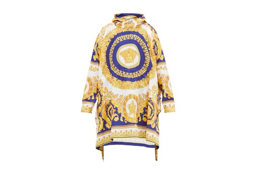 Versace's Latest Technical Poncho Features the Brand's Medusa Head Motif