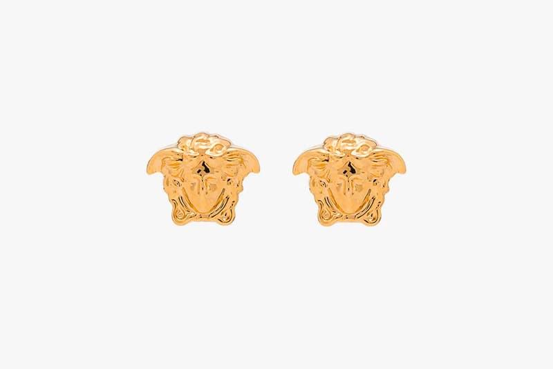 Versace Gold Medusa Head Earrings Release Info