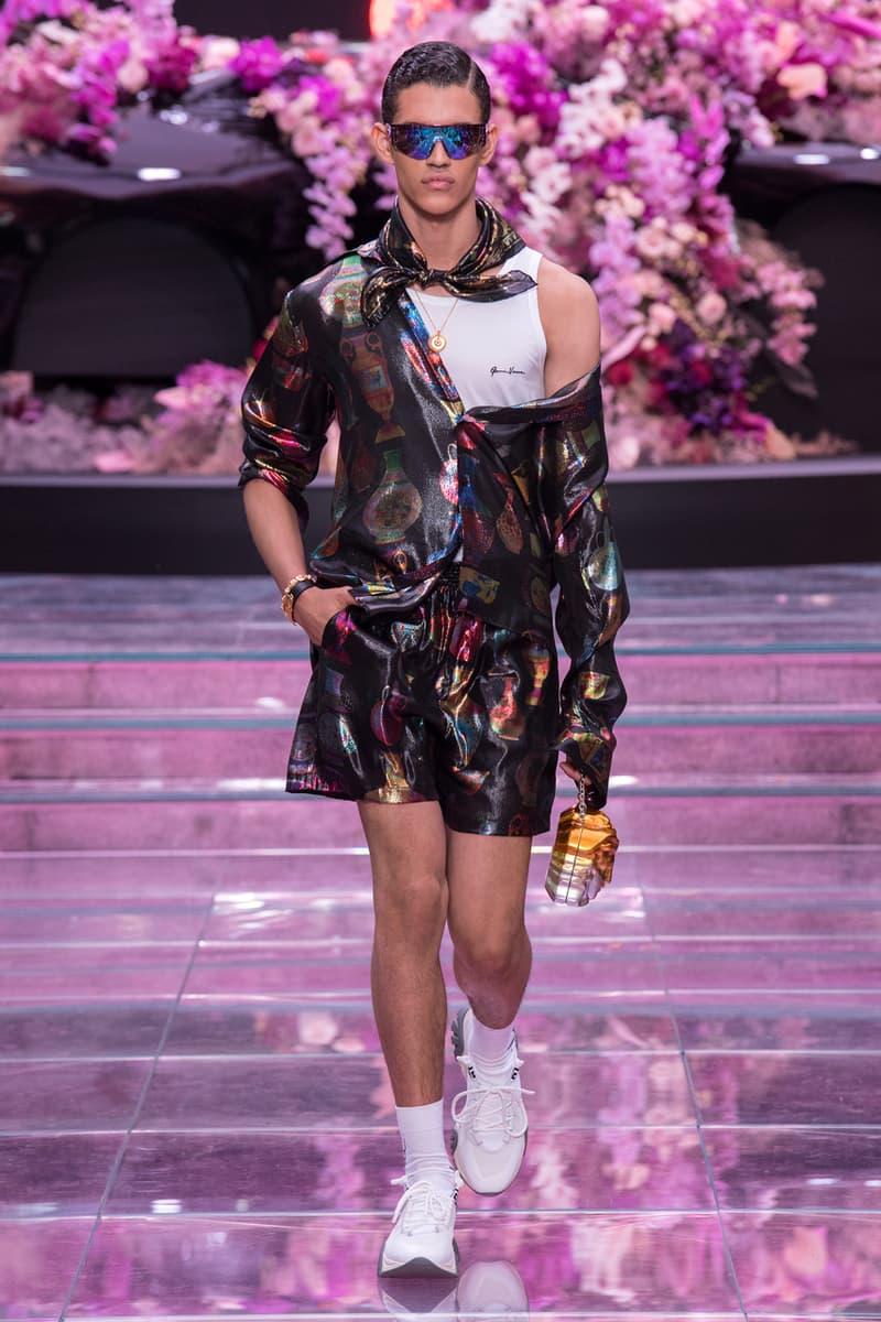 versace mens spring summer 2020 fashion runway show milan fashion week