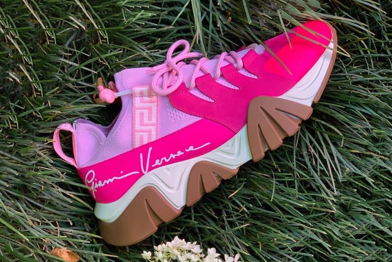 Salehe Bembury Versace SS20 Footwear Spring Summer 2020