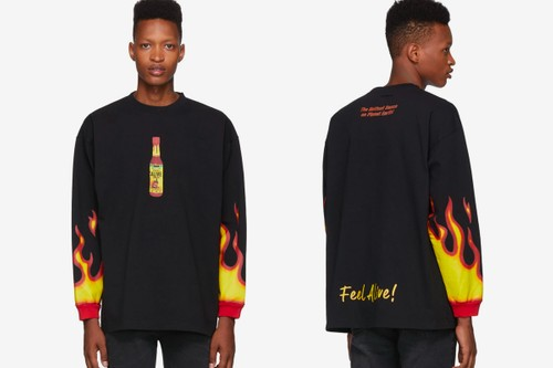 Vetements Latest T-Shirt Release Celebrates Hot Sauce