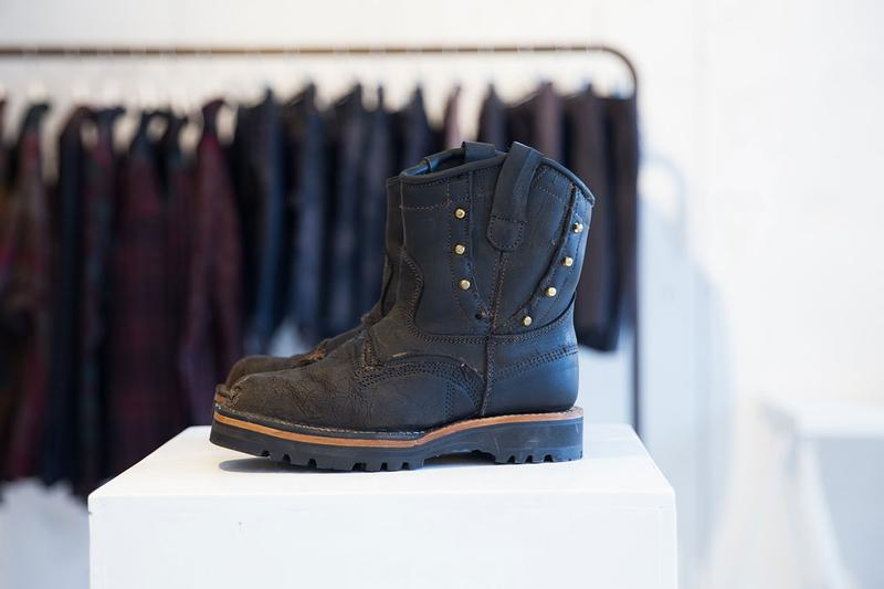 Viberg Rebuild Needles Nepenthes Hakata Exhibtion rebuild japan toyko menswear casual fashion boots footwear outdoors