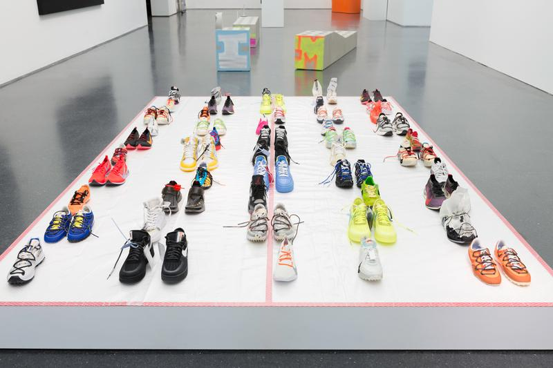virgil abloh mca chicago exhibition artworks sculptures installations retrospective