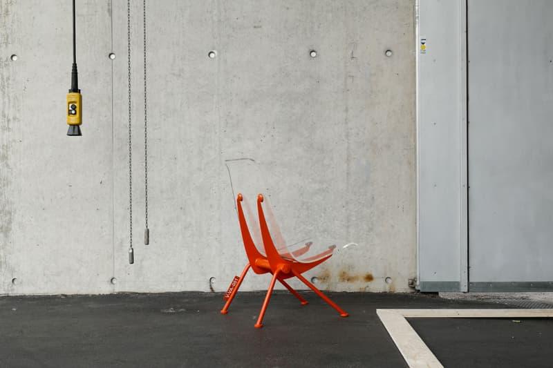 vitra courtesy of virgil abloh design museum art basel off white switzerland germany furniture installation zaha hadid twentythirtyfive fire station