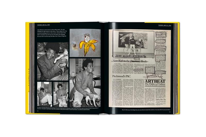 Warhol on Basquiat Visual Book Release andy warhol jean-michel basquiat Michael Dayton Hermann