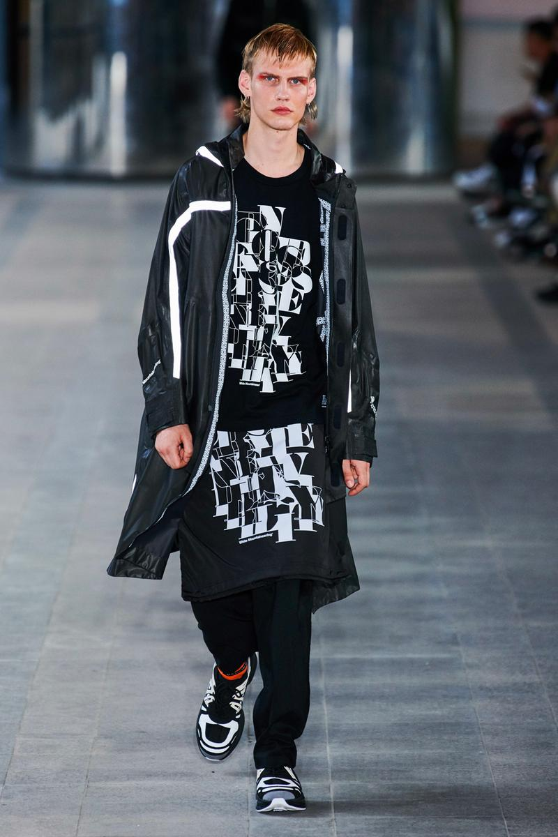 White Mountaineering Spring/Summer 2020 Runway PFW Show paris fashion week mens technical apparel militarism functional japan outdoor gear tropical paisley prints