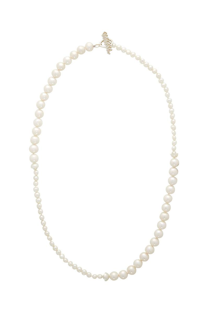 WWW.WILLSHOTT Drops Pearl & Onxy Split Jewelry