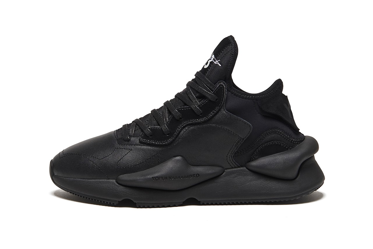 Y-3 Fall Winter 2019 Collection Yohji Yamamoto adidas black monochrome elongated yuben low kaiwa triple black