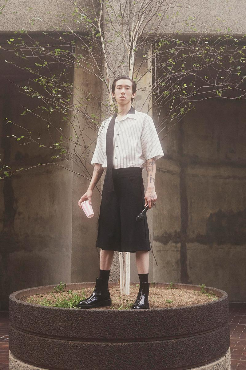 Yang Li Spring Summer 2020 Greatest Hits Side A Collection Lookbook Music GENESIS P-ORRIDGE  GODFLESH  MICHAEL GIRA  PSYCHIC TV  RAMLEH  SWANS  TORTURING NURSE  TROPIC OF CANCER  YUNG LEAN  左小祖咒 ZUOXIAO ZUZHOU