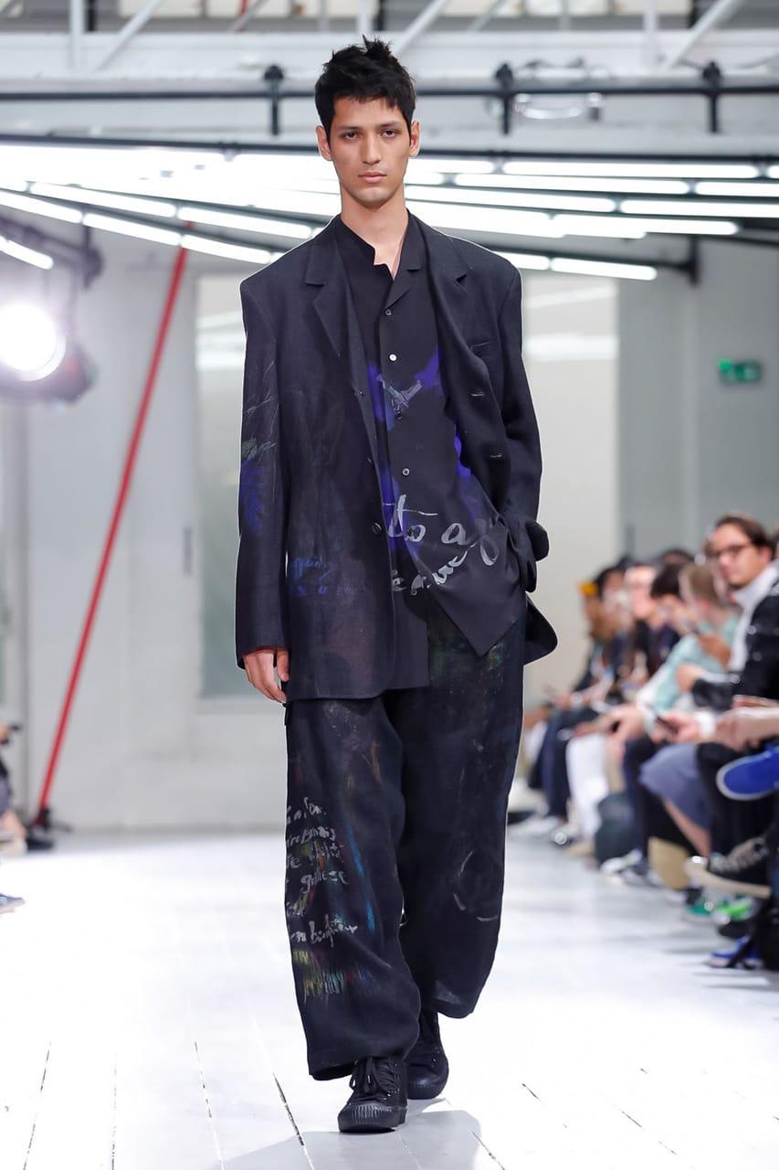 Yohji Yamamoto Spring/Summer 2020 Men's