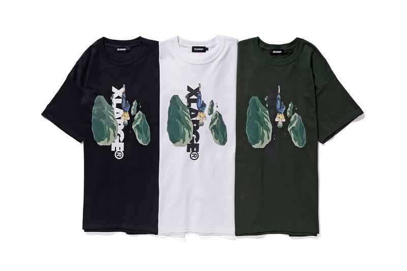 Yu Yu Hakusho x XLARGE SS19 Capsule Collaboration spring summer 2019 june 15 tee shirt japan graphic yusuke kuwabara kurama