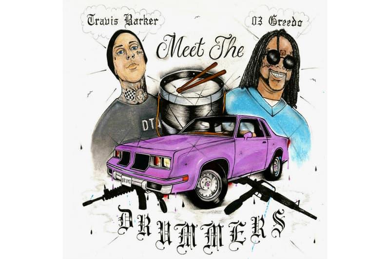 03 Greedo Travis Barker Meet The Drummers Mixtape Stream Alamo Records EP