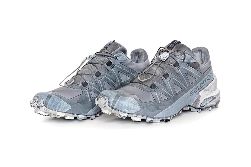 11 by Boris Bidjan Saberi x Salomon SS20 Footwear spring summer 2020 hand-dyed over-dyed Slide, Bamba 1.X, Bamba 2 (Low, Mid, and High), Bamba 3, Bamba 4, Bamba 5, and Bamba 6