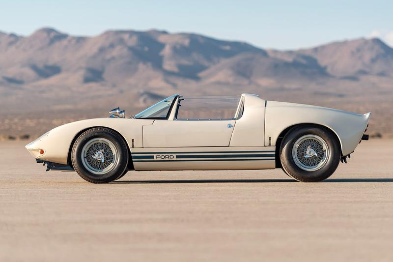 1965 Ford GT40 Roadster Prototype Auction Info RM Sothebys vintage cars unique sale racer racing