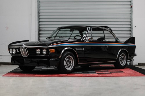 "This Sinister 1972 BMW E9 3.0 CSL ""Batmobile"" Is Hitting the Auction Block"