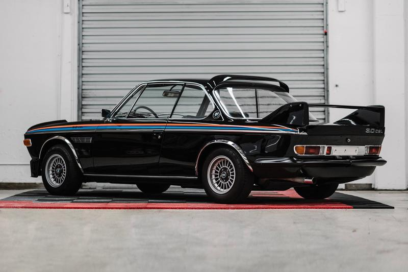 1972 BMW 3.0 CSL RM Sotheby's Auction  For sale buy now bid black retrofuturistic motorsport automotive car e9 e24