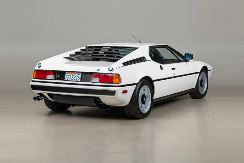 1980 BMW M1 Coupe Auction Canepa automobile inline v6 5-speed manual white exterior black interior