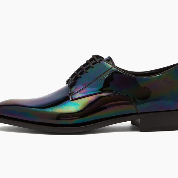 Givenchy Iridescent Leather Derby Shoes