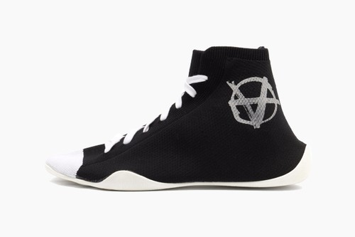 Vetements Anarchy-Print Jersey Sock Trainers