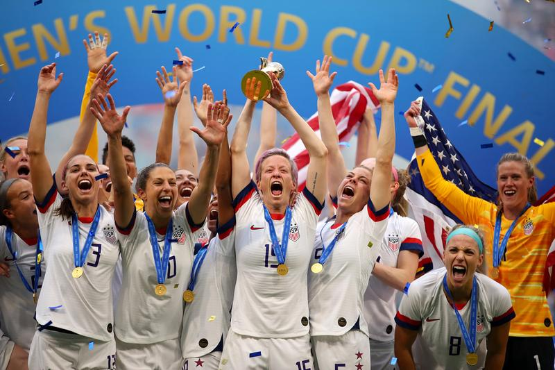 2019 ESPY Award Winners Full List USWNT womens football soccer united states of america megan rapinoe