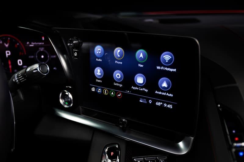 2020 Chevrolet Corvette Reveal General Motors Red Mid Engine