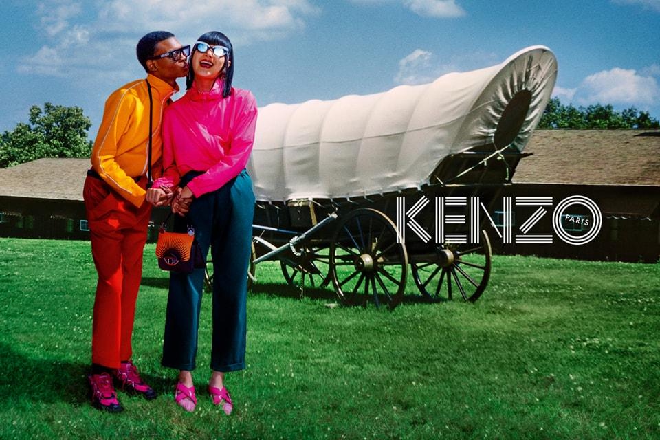 David LaChapelle Imagines KENZO's FW19 Campaign as Vintage Postcards